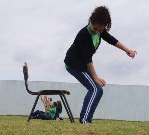 Mariana e Leandro: aula divertida e motivadora