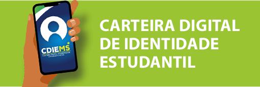 Carteira digital de identidade estudantil.